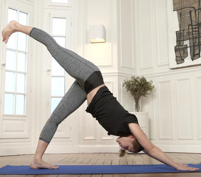 Cours de yoga Vinyasa pour niveau avancé